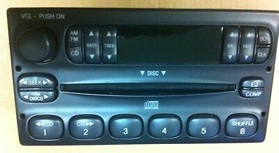 98-04 Ranger Escape Explorer Mountaineer F150 CD Player Radio XL5F-18C815-AA