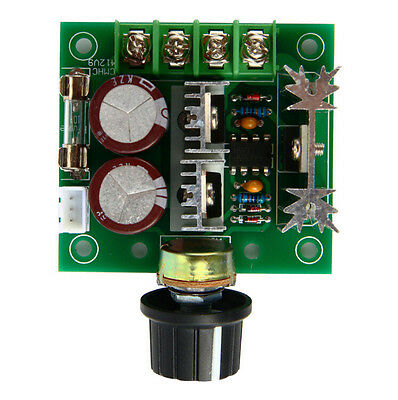 Adjuster PWM HOT Pulse DC Motor Speed Control Switch 10A 12V-40V 13khz
