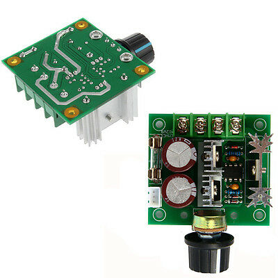 Pulse DC Motor Adjuster 13khz 10A 12V-40V PWM 2016 Speed Control Switch