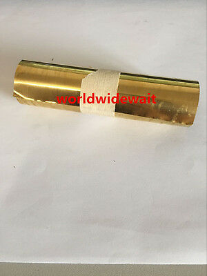 New 1PC Brass Metal Thin Sheet Foil 0.05 x 100 x 1000mm