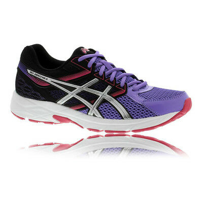 Asics Gel-Contend 3 Womens Purple Black Cushioned Running Shoes Trainers