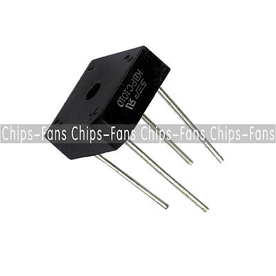 10PCS KBPC1010 KBPC-1010 Bridge Rectifier 10A 1000V