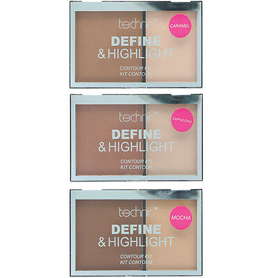 Technic Define & Highlight Duo Contour Kit Bronzer & Highlight Powder 5.5g