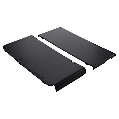 Cover plate for New 3DS Nintendo (2015) console top & bottom ZedLabz – Black