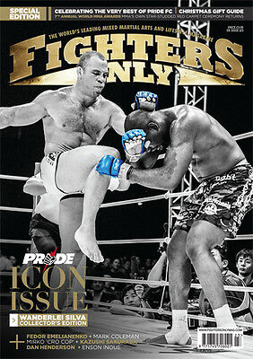 Fighters Only Magazine Issue 123 (Holiday 2014 Issue)