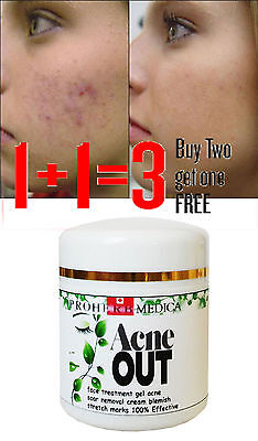 Sulfur&Salicylic Acid Acne Spots Removal Face Cream All Natural 50 ml