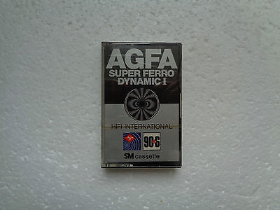 Vintage Audio Cassette AGFA Super Ferro Dynamic 90 * Rare From 1978 * - 10% OFF