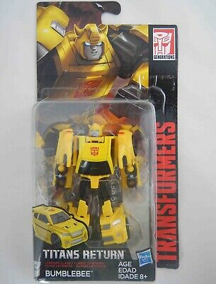 TransFormers BUMBLEBEE Titans Return Legend Class HASBRO Figure NEW Sealed Pack