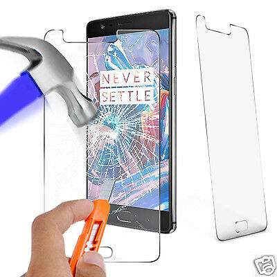 For OnePlus 3 - 100% Genuine Tempered Glass Film Screen Protector