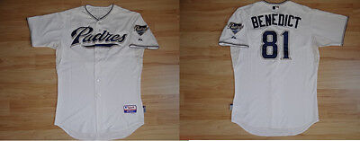 MLB Authentic Baseball Trikot/Jersey SAN DIEGO PADRES Hagerty 72 GameUsed 50/XL