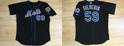 MLB Authentic Baseball Trikot/Jersey NEW YORK METS Silverio #59 GameUsed sz50/XL