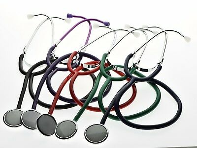 Single Head Stethoscope Medical Veterinary Doctor Nurse Student EMT CE