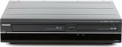 Toshiba DVR620 DVD & VHS  1080P recorder with two way dubbing Records Brand New.