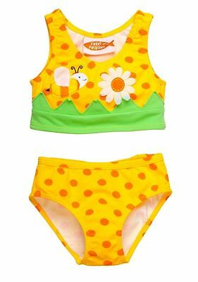 Sweet Potatoes Bee Tankini 2-piece Swimsuit Yellow Toddler Girls size 3T New $32