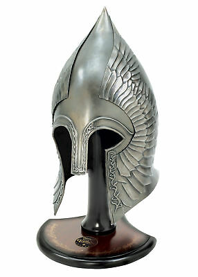 Lord of the Rings - Gondorian Infantry Helm with Stand, LARP Helmet LotR Replica
