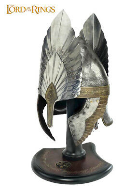 Lord of the Rings - Helm of King Elendil with Stand, Replica Helmet LARP LotR