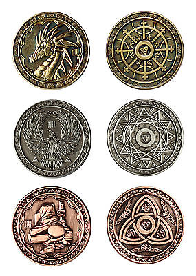 LARP coins Magic, Fantasy Money Currency Medieval Ancient