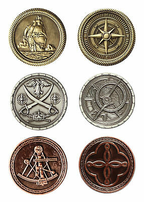 LARP coins Pirates, Fantasy Money Currency Medieval Ancient