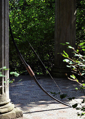 Longbow Agincourt for LARP, 50 inches, 25 lbs - medieval viking bow