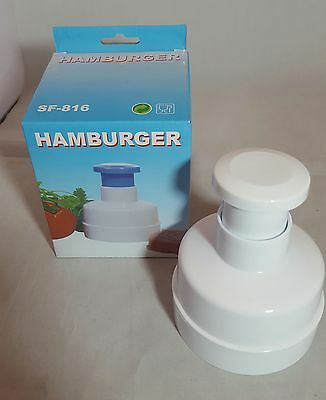 Hamburger Press Tool Make Homemade Burgers Grill BBQ Patty Maker
