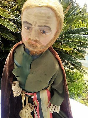 Shakespeare, Venice Merchant, Shylock, Paper-Maché doll made by Fern Juhl Madson