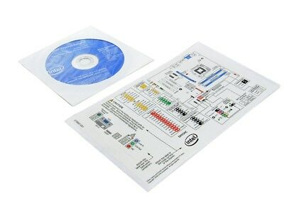 Intel DH55C Motherboard Installer Installation Driver DVD CD Disc+Chassis Label