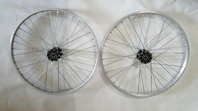 "Tricycle Trike 24/"" 36 Spoke Hollow Hub Right /& Left Wheel 15mm axle 35mm od"