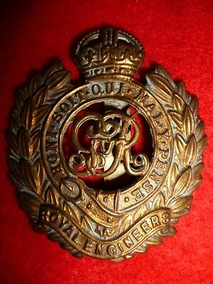 The Royal Engineers WW1 George V Cap Badge