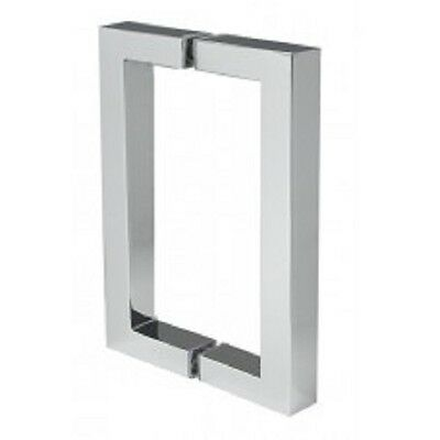 "Habitat 6"" Double Square Pull-Brushed Nickel"
