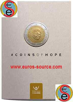 2 € BU Belgique 2016 Coincard Child Focus