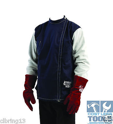 ProChoice Cotton Drill Welding Jacket (Various Sizes Available)
