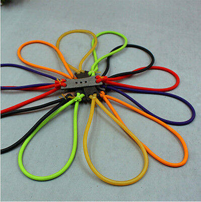 1 Pc Elastic Catapult Bands For Strong Toy Hunting Rubber New Powerful