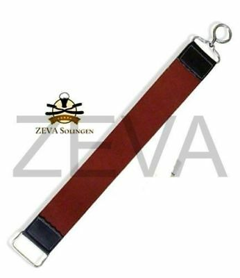 Raw Cowhide Leather Small Hanging Strop Strap Belt For Straight Razor Sharpening