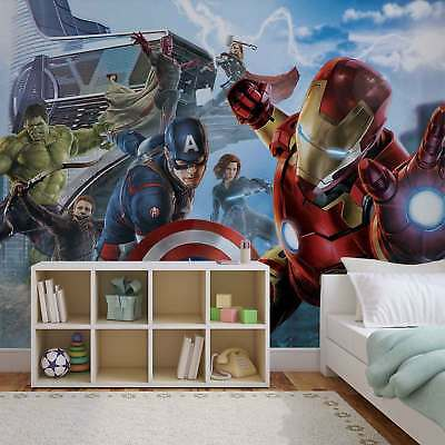 WALL MURAL PHOTO WALLPAPER XXL Marvel Avengers Team (3363WS)