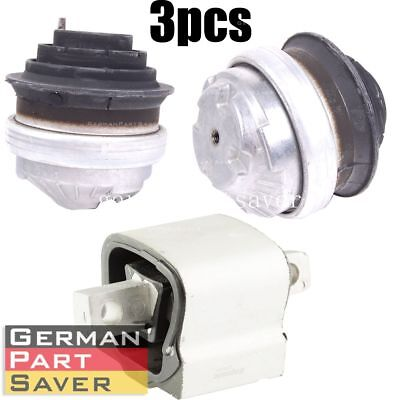 New Engine & Transmission Mount Kit For Mercedes W220 S500 S430 Cl Clk S-Class