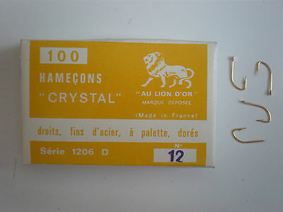 100 AMI ( HOOKS ) AU LION D'OR ( CANNELLE ) SERIES 1206 D ( Oro / Gold )