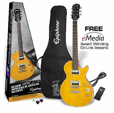 "Epiphone Slash ""AFD"" Les Paul Special II Electric Guitar Outfit Pack"