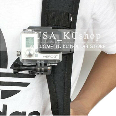 New 360 Rotary Rec-Mounts Clip Backpack Hat Fast Clamp for Gopro Hero 4 3+ 3 2 1