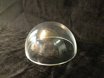 CLEAR PERSPEX ACRYLIC DOME WITH NO FLANGE HEMISPHERES 50mm - 700mm DIAMETERS
