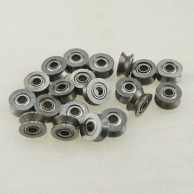 99052011 20PCS Rod Rail Wire Thread Drawing Machine Ball Bearing Groove V624