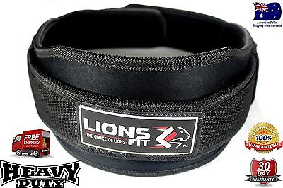 """5.5"""" Weight Lifting Workout Gym Belt Back Support / Power Lifting Weightlifting"""