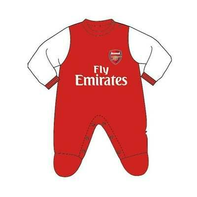 Arsenal Baby Onesie - Gunners OFFICIAL Babies Sleepsuit Jumpsuit - NEW GIFTS