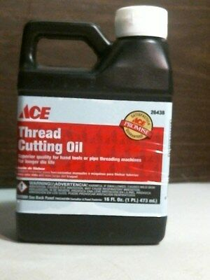 Ace 26438 Thread Cutting Oil 16oz., FREE SHIPPING