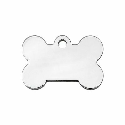 Engraved Pet Dog Puppy Identity Disc, Id Disc, Id Tag Chrome Plated Personalised