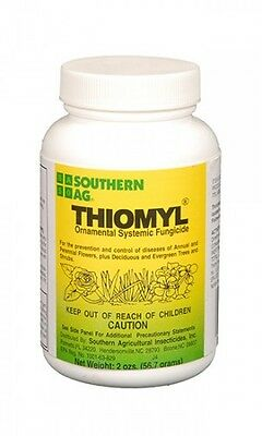 Thiomyl Systemic Fungicide 2 oz - Generic Clearys 3336 50% - Roses, Shrubs, Turf