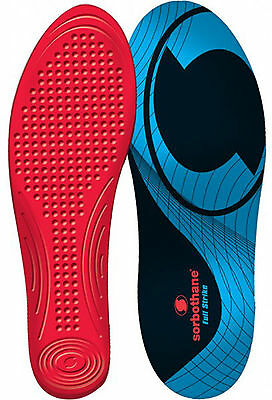 Sorbothane FULL STRIKE Insoles Shock Stopper- 100% Impact Protection, USA Made