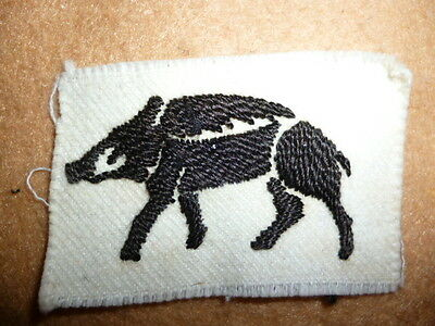 Hampshire County Division Patch WW2 - UK