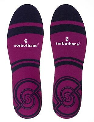 Sorbothane Cush n Step Comfort Insoles- Impact Protection, Heel Pain, Orthotic