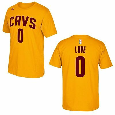 NBA Trikot/T-Shirt Name&Number CLEVELAND CAVALIERS CAVS Kevin Love #0 gelb