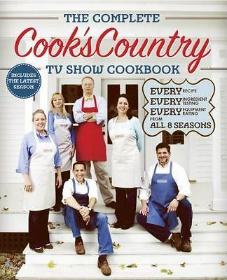 NEW The Complete Cook's Country TV Show Cookbook FROM ALL 8 SEASONS All Recipes